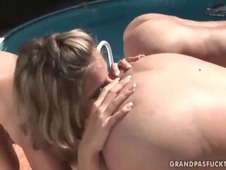 Підліток ебать з two великий пеніс в один hole