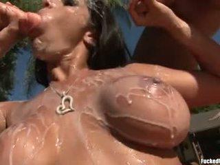 เพศไม่ยอมใครง่ายๆ คุณ, blowjobs, สนุก cumshots จริง