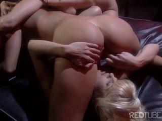 Lesbian masturbation bunch sticking things