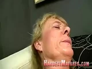 Dirty Granny With A Hairy Cunt