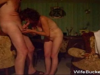 Mature Amateur Wife Gives A Mean Blowjob