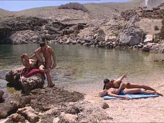 Sexy blondes fucked at greek island Video