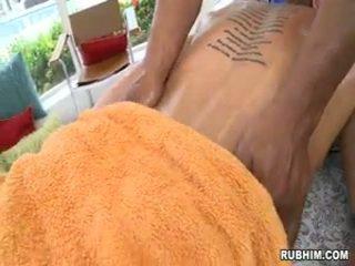 Rubbing A Beautiful Man