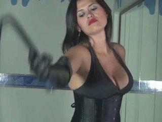 nieuw femdom vid, meer bdsm film, vol spanking
