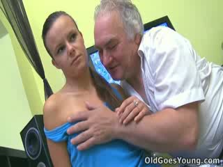 It's important to get the babe ones fucked nice and hard, and you simply have to have the old guys doing it!