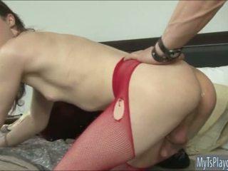 Tiny tits tranny Stefani Special analed