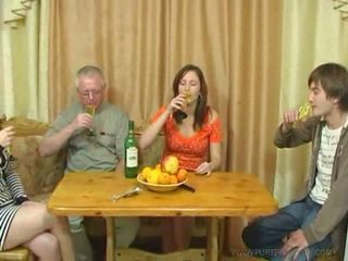 Pure russian family bayan video