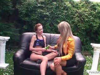 Hose Lesbie Gals Inside Heat