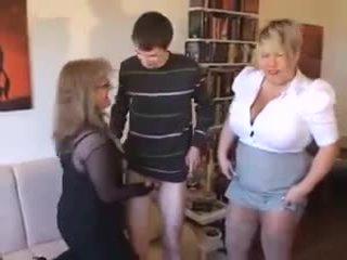 Two seksowne dojrzewa mieć zabawa z młody tech