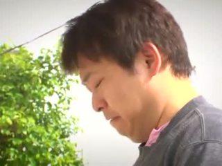 japonski, glejte velike joške, milf koli