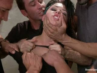 Busted Eva Angelina Plays A Hooker Gangbanged By Crooked Cops Dp Dv Da