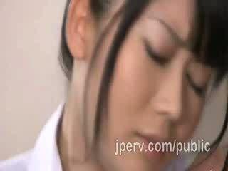 اليابانية, الجمال, غريب, المداعبة