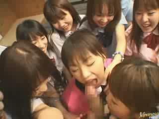 японски пресен, момичета гледайте, съсед