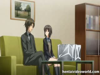 hottest masseuse scene, new anime, shaved channel