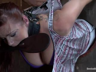 Bella Rossi Has Constrained Up And Appreciates A Fucking Toy In Her Throbbing Crotch
