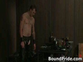Christian trent gets 彼の tortured 突合せ fcuked 1 バイ boundpride