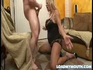 Debi Diamond Blows A Big Bone