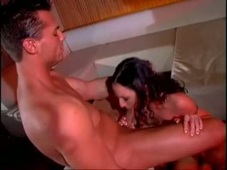 Hot Brunette RhiAnnon Bray Clogs Her Face Hole With A Ma Holeive Cock