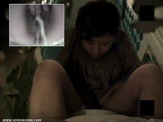 Plaukuotas putė tualetas masturbation