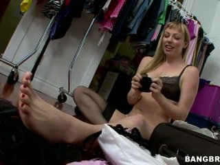 lingerie posted, watch blonde, see stockings