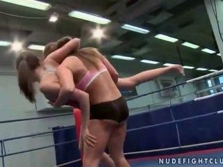 lesbisch thumbnail, kwaliteit lesbische strijd, muffdiving