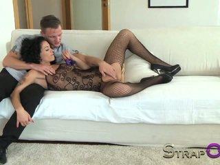 online dubbele penetratie mov, vol seksspeeltjes, gratis strapon neuken