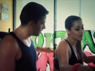 erotisch, beste sportschool tube, vrouw video-