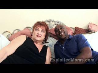 Vanaema gets vulva pounded poolt suur tõmmud thang