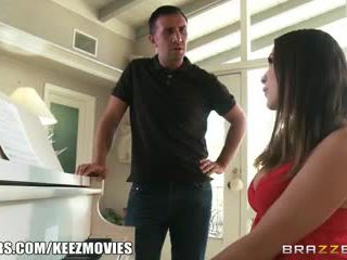 Brazzers - Pornstar takes dick over piano any-day