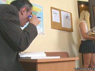 Delightful anale sesso con insegnante
