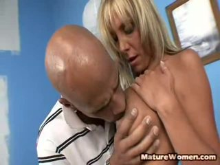 Misty vonage is a dangerous predatory slut who was stuck at a auto shop waiting for her luxury mobil to have fixed. when a mechanic told her it was going to be another 3 or four hours, she pounced