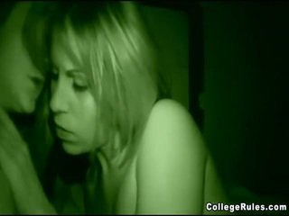 College Bimbos Fucked At Party
