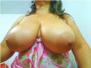 Webcams 2014 - Colombian MILF w HUGE TITS 2
