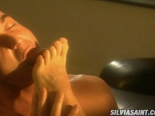 Hawt Blonde Caroline Cage Takes Her Man's Jock To So Much Pleasure In Her Mouth