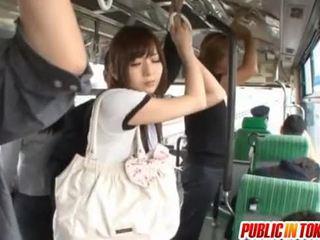 japonés, masturbación, público