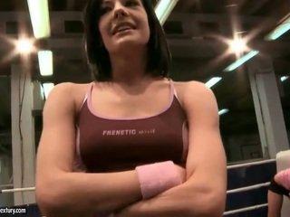 brunette porno, ideaal lesbisch neuken, beste lesbische strijd kanaal
