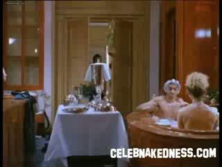 Celebnakedness tatjana simic nude in bath and stripping