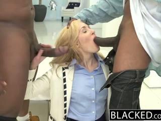 Blacked 2 malaki itim dicks para mayaman puti dalagita