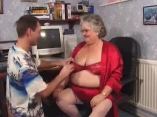 big granny need a young cock Video
