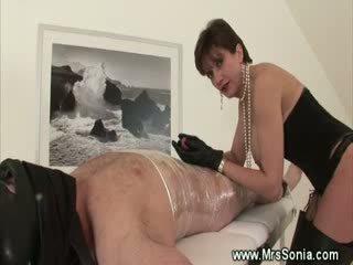 Mistress is into mummification