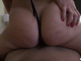 Bubble butt gf Krystal fucked on tape