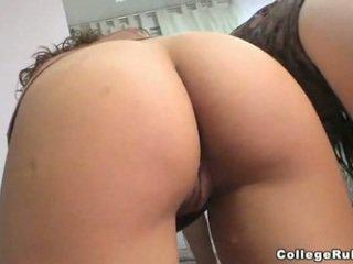 ideaal coed video-, vol schattig, meest plezier seks
