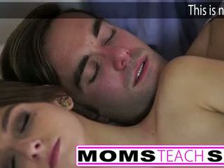 Hot mom and step son fuck young girlfriend