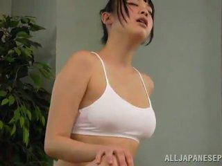 Mel reiko kobayaka was para sexcited para petting
