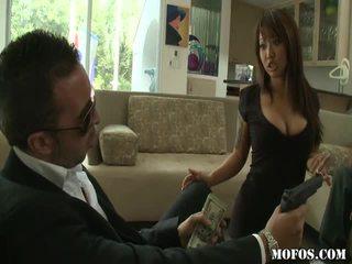 Asian Porno Female Tastes The Thing