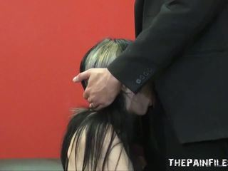 Enslaved Oral Fuck Of Fat Porn Facially Humiliated Submissive In Rough Domination And Sadism