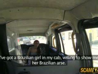 Heet braziliaans roxi rides een schots lul