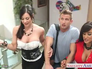 Uly emjekli babes kendra lust and lisa ann fuck in 3 adam