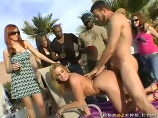 Big Booty Doxy Flower Tucci Gets Banged From Behind And Takes A CreAmy CumsplAsh