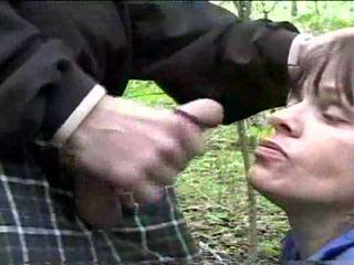 Terri downs - amatør - blowjob i offentlig park video